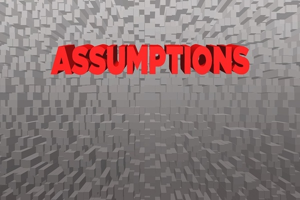 fee-only financial advisors don't make assumptions