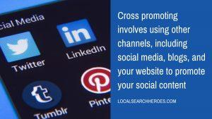 improve your fee only financial advisor social media marketing icons